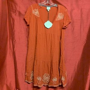 "Knox Rose Dresses - Knox Rose ""Hematite"" Boho Dress Size Small"